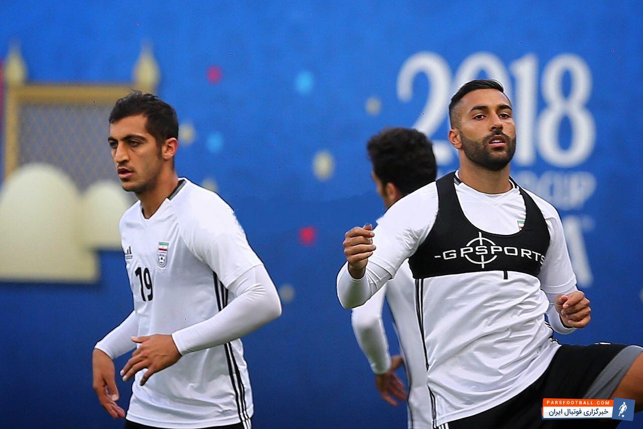 سامان قدوس این روزها با آمادگی بالا در تمرینات تیم ملی حضور پیدا کرده سامان قدوس یکی از ستارههای ایران در جام جهانی محسوب میشود.