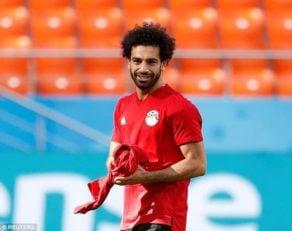 محمد صلاح فوق ستارهی تیم ملی مصر و لیورپول است محمد صلاح با پشت سر گذاشتن مصدومیت خود آماده حضور برابر اروگوئه در جام جهانی شد.