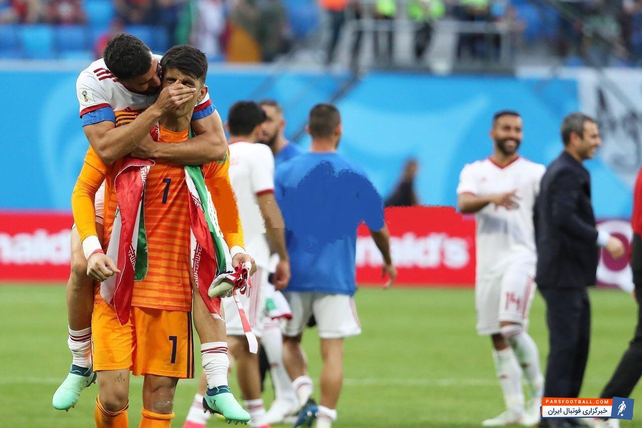 بیرانوند هنوز تمام آن سادگی اش را حفظ کرده است ؛ پارس فوتبال ؛ خبرگزاری فوتبال ایران