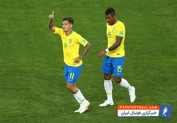 کوتینیو ؛ فیلم ؛ لایی دیدنی کوتینیو در تمرینات تیم ملی برزیل و واکنش شیطنت آمیز نیمار
