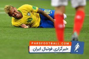 نیمار ؛ 12 خطای خطرناک از بازیکنان تیم فوتبال سوئیس بر روی نیمار