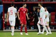 ایران ؛ تصویری از اشک های هوادار تیم ملی بعد از شکست برابر اسپانیا