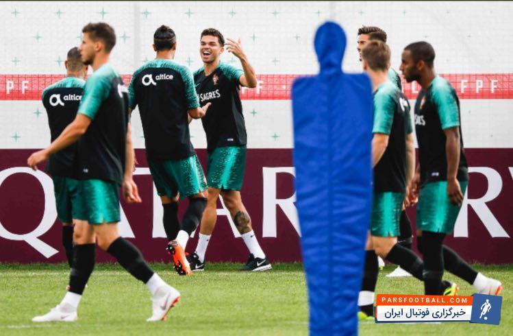 تیم ملی پرتغال آماده تقابل با ایران ؛ رونالدو پیش به سوی دیدار با ایران در جام جهانی
