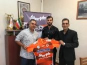 امین حاج محمدی پس از اینکه از استقلال تهران جدا شد، به تیم فوتبال ماشین سازی پیوست امین حاج محمدی با این تیم به دسته پایین تر سقوط کرد.