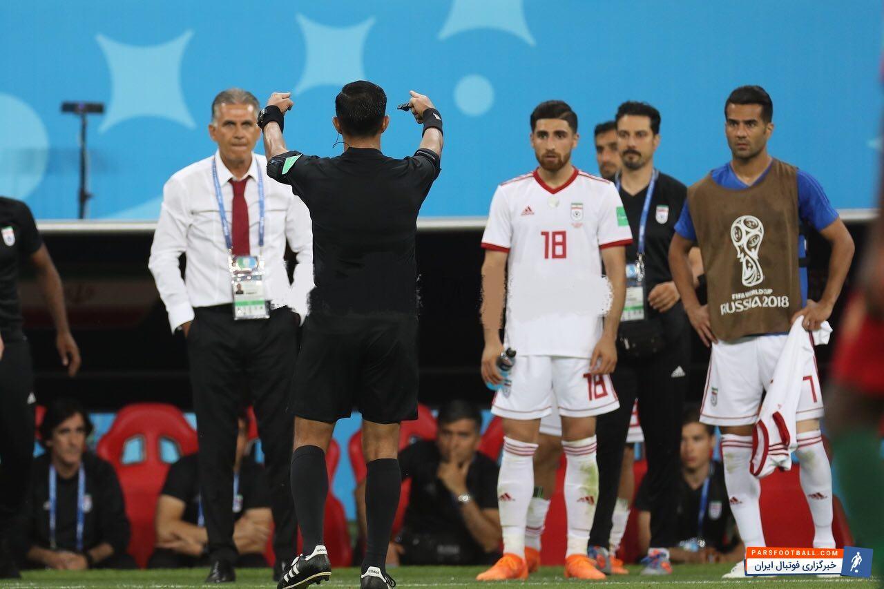 فیلم حاشیه های کمک داور ویدئویی در بازی های جام جهانی 2018 روسیه