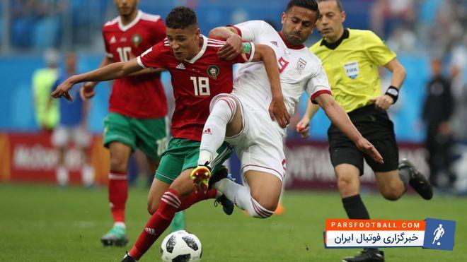 تیم ملی مراکش به مسکو رسید ؛ تیم ملی مراکش آماده برای رویارویی با پرتغال