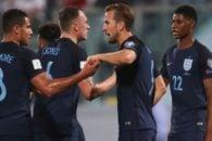 انگلیس ؛ تصویری از تمرین جدی هری کین امید اول گلزنی انگلیس در جام جهانی 2018