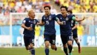 ژاپن ؛ تصاویری از خوشحالی طرفداران تیم فوتبال ژاپن بعد از برد برابر کلمبیا