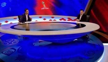 فردوسی پور ؛ شوخی عادل فردوسی پور با مهران مدیری در ویژه برنامه جام جهانی 2018