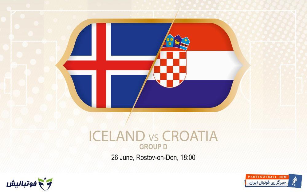 فیلم خلاصه بازی تیم های کرواسی و ایسلند در بازی های جام جهانی 2018 روسیه 5 تیر 97
