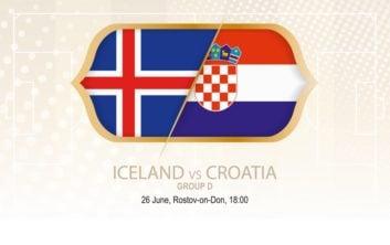 پیش بازی ایسلند کرواسی