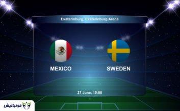 بازی مکزیک و سوئد