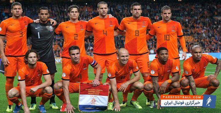 وضعیت تیم ملی هلند در جام جهانی 2018