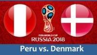خلاصه بازی پرو و دانمارک