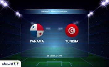 بازی تونس پاناما
