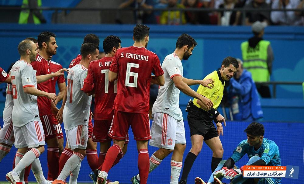 بیرانوند : اگر گل اتفاقی به نبود، تا صبح گل نمیخوردیم ؛ پارس فوتبال