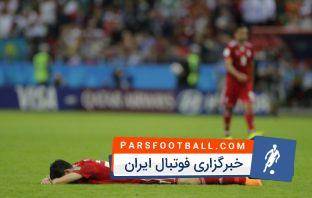 سردار آزمون ؛ گریه های سردار آزمون از انتقادات فراوان پس از دیدار برابر اسپانیا در جام جهانی