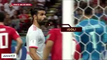 دیگو کاستا ؛ تمام حرکات دیگو کاستا برای ایجاد جنگ روانی در بازی تیم ملی ایران و اسپانیا در جام جهانی