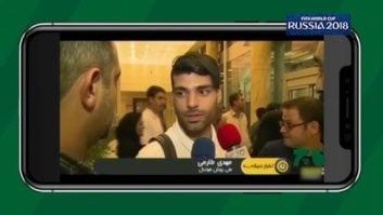 دابسمش بازیکنان تیم ملی پس از بازگشت به ایران