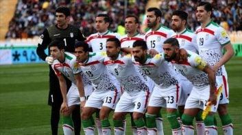 ایران ؛ حمایت هواداران تیم فوتبال ایران از ملی پوشان در تمرینات در کمپ لوکوموتیو