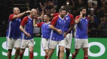بازی دوستانه تیم ملی فرانسه - فیفا 1998