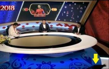 عادل فردوسی پور و گربه ها ؛ واکنش جالب عادل فردوسی پور به ورود گربه در برنامه 2018