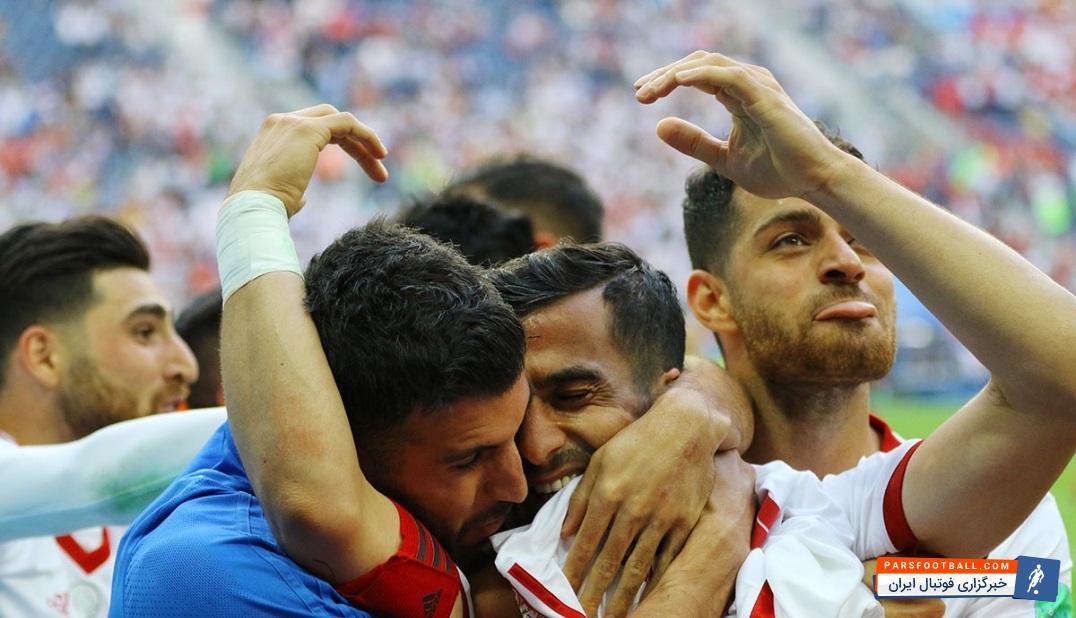 احسان حاج صفی کاپیتان احتمالی ایران در مقابل پرتغال ؛ پارس فوتبال