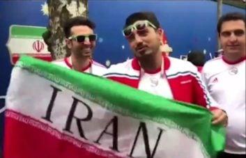 تیم ملی ؛ شور و حال هواداران تیم ملی فوتبال ایران در روسیه