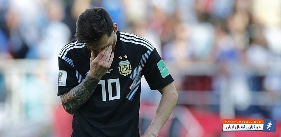 تیم ملی آرژانتین مقابل کرواسی با سه گل باخت؛ بازتاب فاجعه تاریخی مسی و آرژانتین