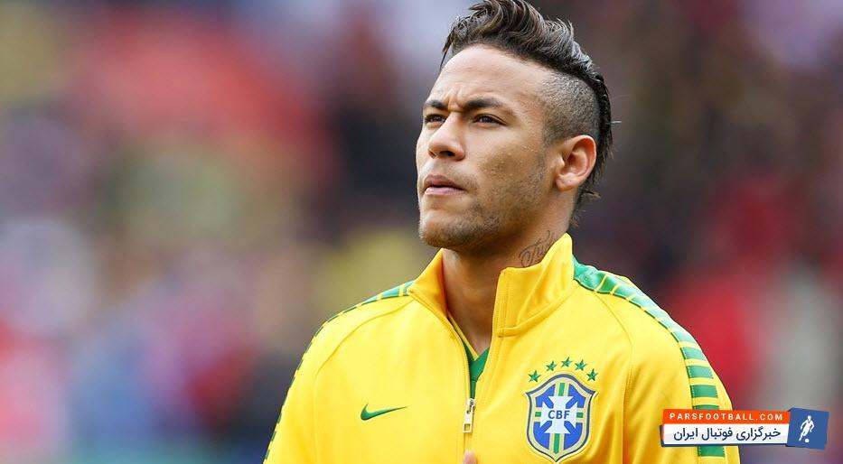 نیمار ؛ آغاز تمرینات گروهی نیمار در کمپ اماده سازی برزیل برای جام جهانی 2018