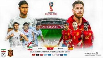 ترفند عجیب مربی تیم ملی برای دیدار با اسپانیا - گل ایران به اسپانیا