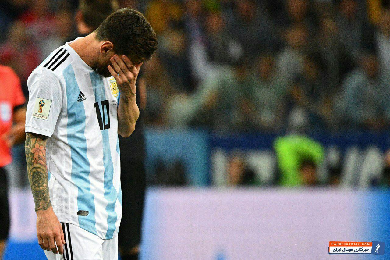 آرژانتین ؛ کاریکاتور از شکست تحقیر آمیز آرژانتین در دیدار برابر کرواسی