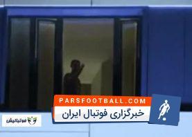 تیم ملی ؛ تجمع شبانه ایرانی ها مقابل هتل تیم ملی پرتغال پیش از دیدار دو تیم در جام جهانی