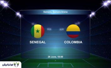 بازی کلمبیا سنگال