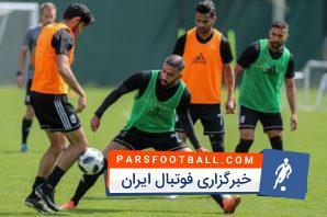 آخرین تمرین تیم ملی ایران در کمپ لوکوموتیو