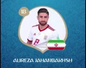 تصاویر بازیکنان تیم ملی فوتبال ایران به تفکیک شماره پیراهن