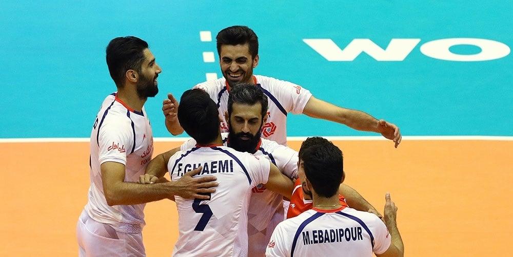 روزنامه ابرار ورزشی : قدرتنمایی والیبالیست های ایرانی در هفته پایانی