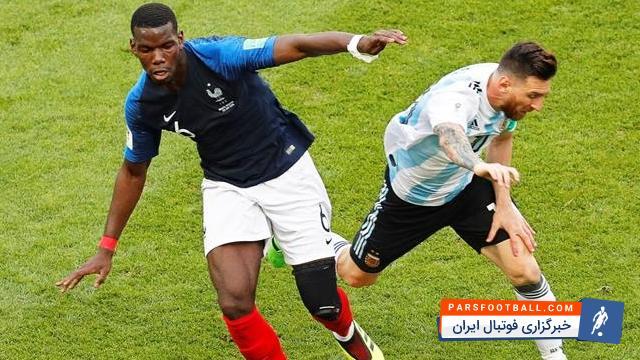 پوگبا : مسی همیشه الگوی من خواهد بود؛ یک بازیکن چپ پای خالص و تمام عیار