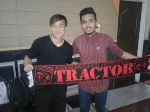 یوکیا سوگیتا هافبک 25 ساله ژاپنی که روز گذشته در استانبول با باشگاه تراکتورسازی به توافق رسید یوکیا سوگیتا قرارداد سه ساله اش را به امضا رساند