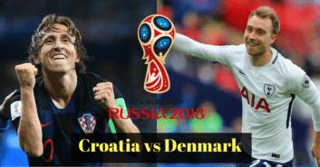 پیش بازی کرواسی و دانمارک
