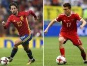 مقایسه ایسکو و گلووین ستاره های اسپانیا و روسیه