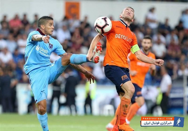 ترابزون اسپور ترکیه ؛ سوپر لیگ ترکیه ؛ باشاک شهیر استانبول 2 - ترابزون اسپور ترکیه 0