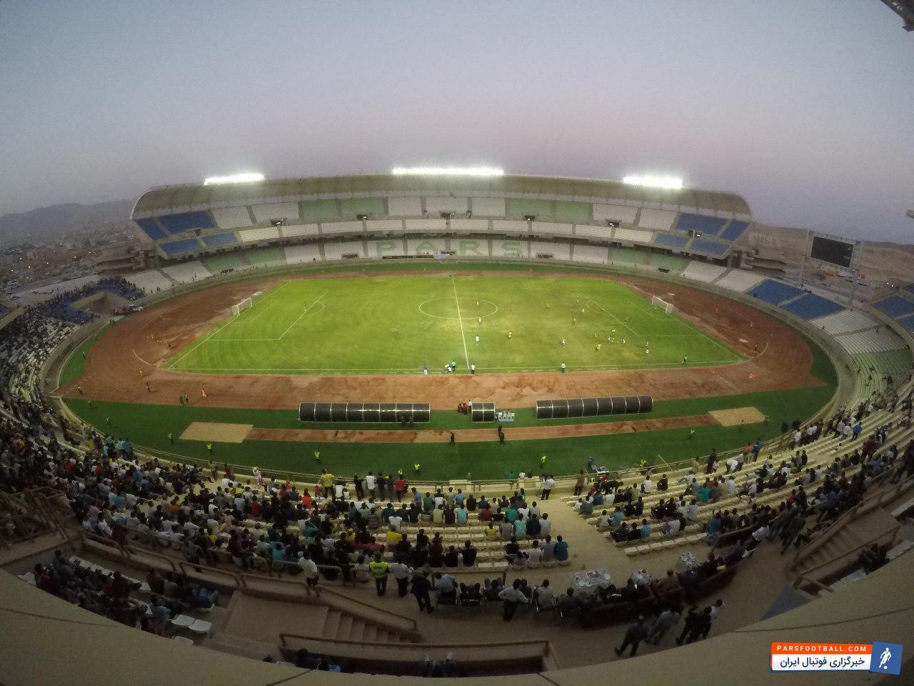 ورزشگاه پارس ، فیلم ؛ آغاز بکار رسمی ورزشگاه پارس شیراز ؛ خبرگزاری فوتبال ایران