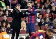 پیکه ؛ انریکه سرمربی جدید اسپانیا در تلاش برای بازگرداندن پیکه به تیم ملی ناکام بود