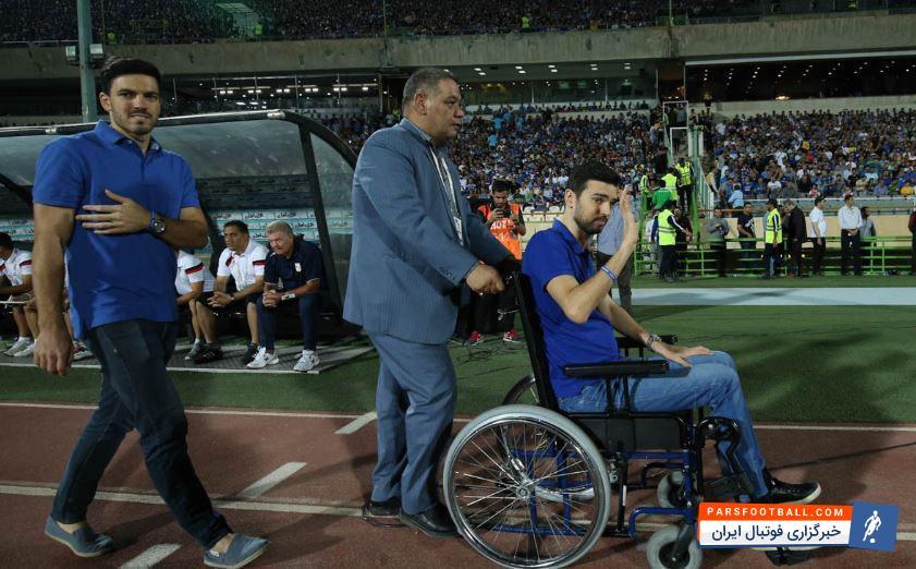پادوانی بعد از نزدیک به 6 ماه از مصدومیت تلخ و ناراحت کننده خود به ورزشگاه های فوتبال بازگشت تا پادوانی تماشاگر دیدار تیم سابق خود و تراکتورسازی باشد.