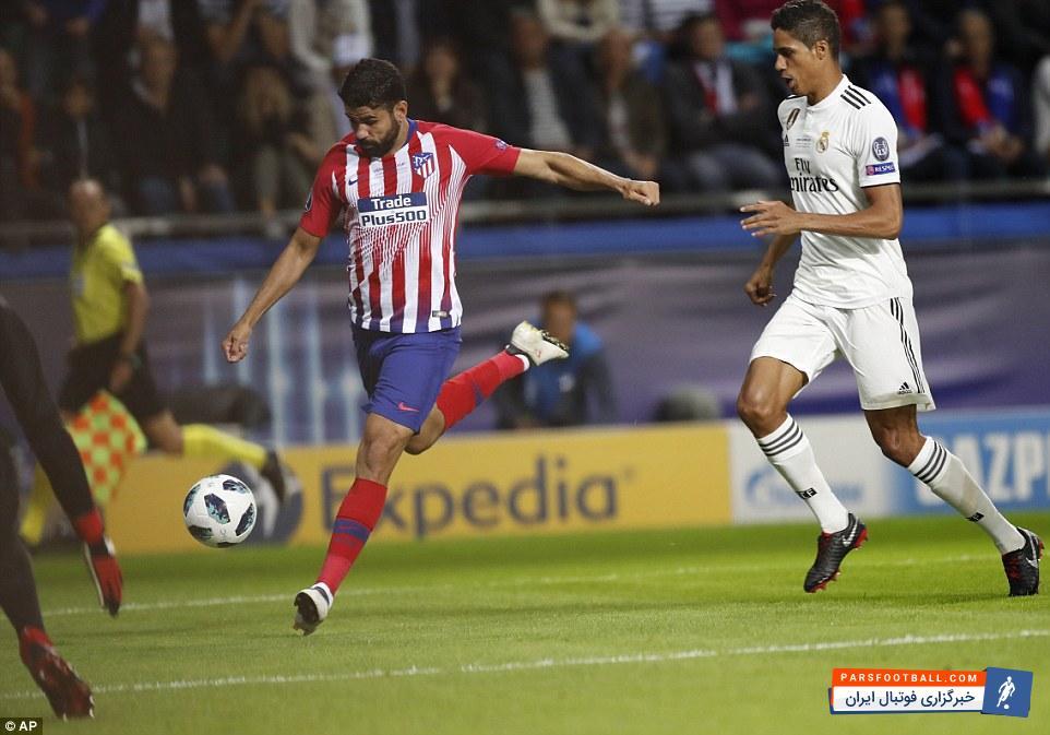 دیگو کاستا مهاجم اسپانیایی اتلتیکومادرید دیشب یک تنه زمینه ساز برتری تیمش برابر رقیب همشهری شد دیگو کاستا در سوپرکاپ اروپا حسابی درخشید.