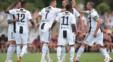 یوونتوس در اولین اکران خود در حضور رونالدو به مصاف یوونتوس B رفت رونالدو در دقیقه 8 اولین گل خود برای بانوی پیر را به ثمر رساند.