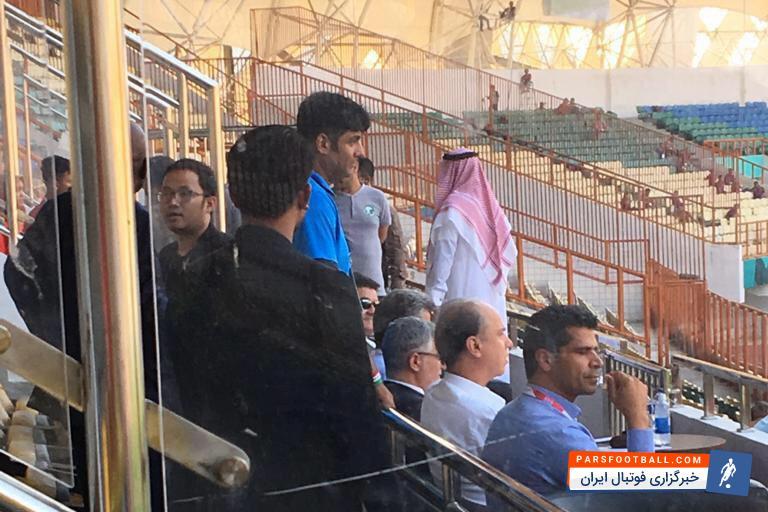 بازی تیم امید ایران و عربستان در حال پیگیری بود که روی سکوهای ورزشگاه ویباوا اتفاق جالبی افتاد