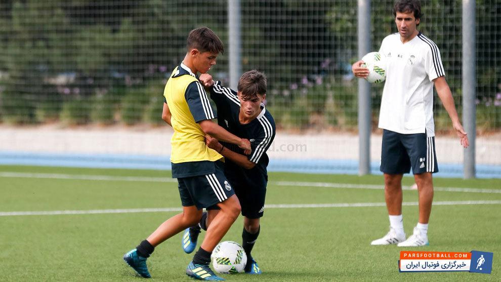 اسطوره رئال مادرید کارش را به عنوان سرمربی تیم فوتبال نوجوانان باشگاه رئال آغاز کرد