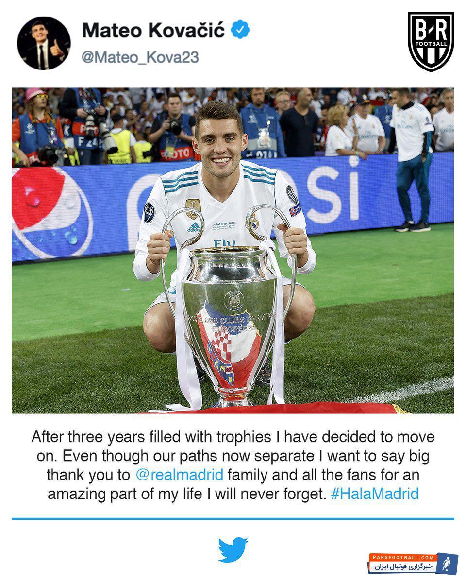 خداحافظی کواچیچ با هواداران رئال مادرید